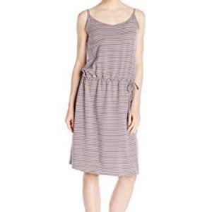 Columbia Sportswear Gray Stripe Active Aria Dress